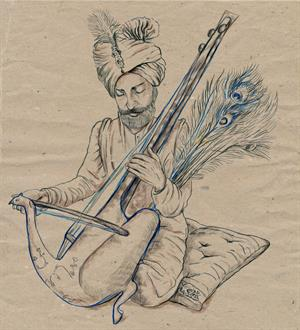 The great singer Tansen.jpg